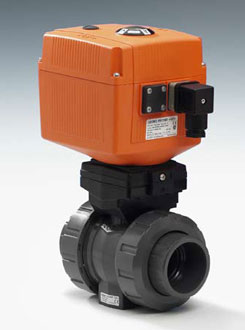 Electrically Actuated Ball Valve Type 107