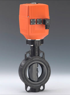 Electrically Actuated Butterfly Valve Type 140