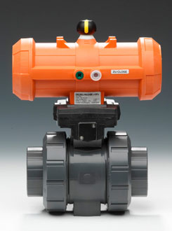 Pneumatically Actuated Ball Valve Type 230-235