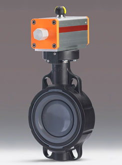 Pneumatically Actuated Butterfly Valve Type 240
